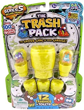 The Trash Pack Series 5 Sewer Trash Random Figure 12 Pack by The Trash Pack: Amazon.es: Juguetes y juegos