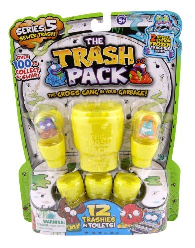Trash Pack Series #5 Figure, 12-Pack by Trash Pack [Toy]: Amazon ...