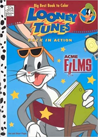 Looney Tunes Back in Action Acme Films Big Best Book to Color ...