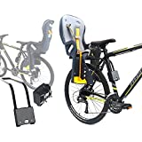 CyclingDeal Bike Baby Rear Seat with Handrail and