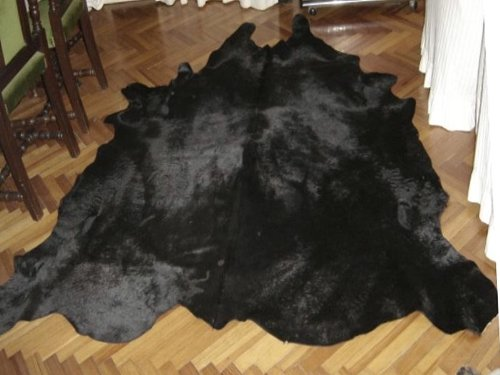 Dyed Cowhide Leather (Cowhide Solid Dyed Black)