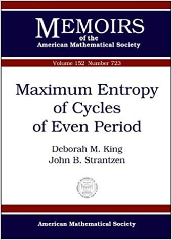 Maximum Entropy of Cycles of Even Period (Memoirs of the American Mathematical Society)