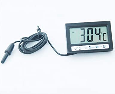 Thermometer Aquarium Electronic Waterproof Refrigerator Probe Digital Display