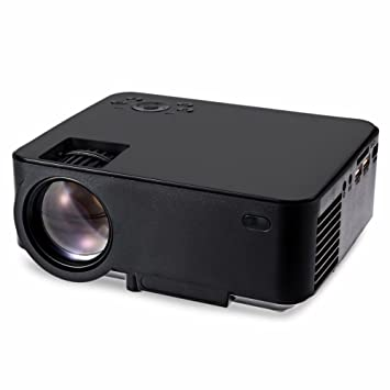 wohoo Mini Proyector portátil 1080P HD LED T20 Home Cinema video ...