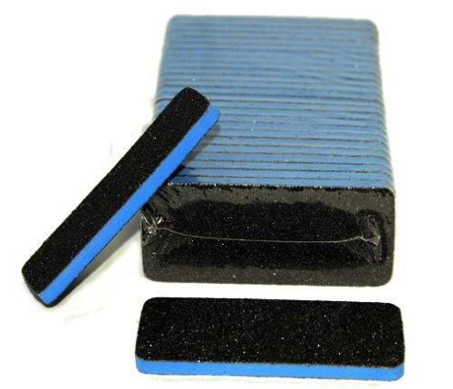 Professional Nail/pedicure Foot Files (Blue Center) Grit 60/60 (25pcs/pack)
