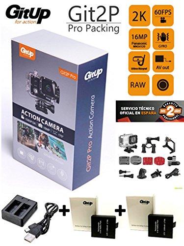Camara GITUP GIT2P PRO edition +cargador doble +2 BATERIA