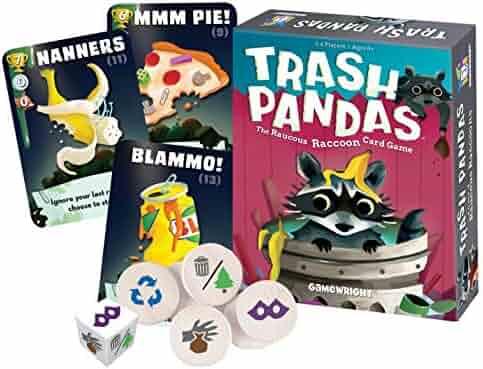 Gamewright  Trash Pandas - The Raucous Raccoon Card Game - 252