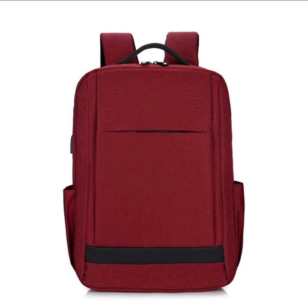 "Waterproof Men Women 15.6/"" Laptop Backpack Travel School Document Bag USB Port"
