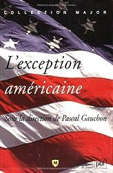 L'exception américaine
