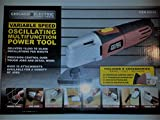 Chicago Electric Variable Speed Oscillating Multifunction Power Tool 120 v 2 amp 10,000-20,000 OPM includes sand, scrape and cut attachments