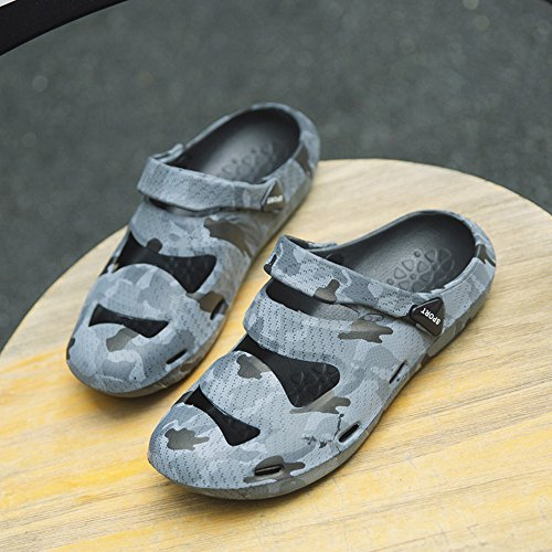 Beach Sandals Breathable Lightweight Camouflage Shoes Suadex Garden Dry Summer Women's Clog Quick Bath xXwnvqYO