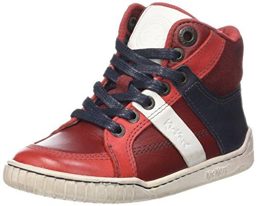 Kickers Wincut - Zapatillas Niños Rojo