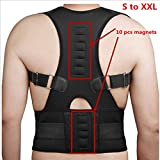 Ms. She Lumbar Support For Back Support Posture Corrector Belt For Unisex B002 - Xxl