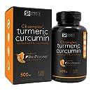 Turmeric Curcumin C3® Complex 500mg, Enhanced with Black Pepper & Organic Coconut Oil for Better Absorption; Non-GMO & Gluten Free - 120 Liquid Softgels