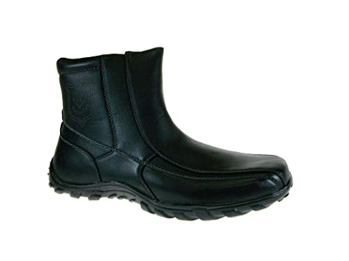 Men's 532-Black Cold Weather Fleece Lined Winter Boots