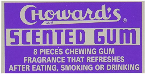 C. Howard Scented Gum, 1.5-Ounce Boxes (Pack of 24) ()