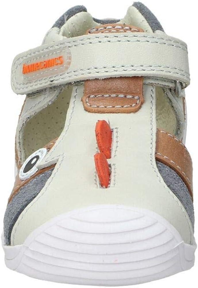 Biomecanics Sandales en cuir avec Velcro Rinoceronte