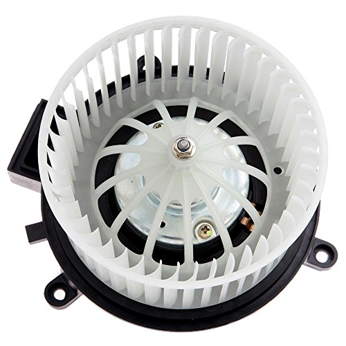 ECCPP HVAC Plastic Heater Blower Motor ABS Blowers Motors w/Fan Cage Rear fit for 2001-2016 Chrysler Town Country /2001-2007 Dodge Caravan /2001-2016 Dodge Grand Caravan