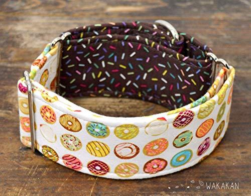 Collar Martingale Para Perro: Yummy Donuts, Hecho a Mano en España ...