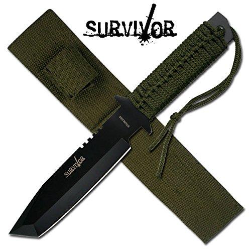 2 opinioni per Coltello Militare e da Sopravvivenza Survivor 7524 Defender Full Tang ★ CONSEGNA