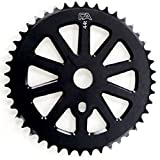 Free Agent Sprocket CNC 45T Black For 3 Piece Cranks