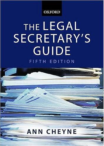 amazon com the legal secretary s guide 9780199268405 ann cheyne rh amazon com legal secretary reference guide legal secretary guide to nm district court