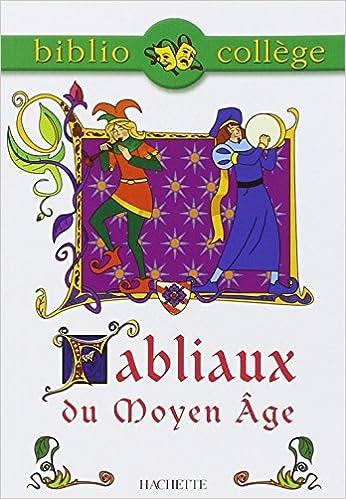 Livres gratuits en ligne Fabliaux du Moyen-Âge, élève epub pdf