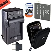 Starter Accessory Kit for Canon PowerShot D10 D20 D30 S90 S95 S120 SX170 IS SX260 HS SX280 HS SX600 HS SX700 HS Digital Camera - Includes NB6L NB6LH Battery & Charger + Deluxe Carrying Case + More!!