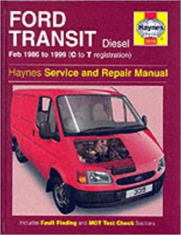 Ford Transit February  C To T Registrationsel Haynes Service And Repair Manuals Service Repair Manuals Amazon Co Uk John S Mead
