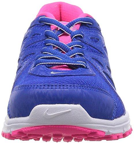 Nike Wmns Revolution 2 Msl, Chaussures de Running Entrainement Femme Bleu - Azul (Hypr Cblt / Mtlc Pltnm-Hypr Pnk)