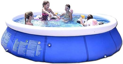 Nologo Piscina Inflable sobre el Suelo, jardín al Aire Libre en el jardín Fácil de Instalar Piscinas para niños y Adultos (Size : 240 * 76(94.5 x 29.9)): Amazon.es: Hogar