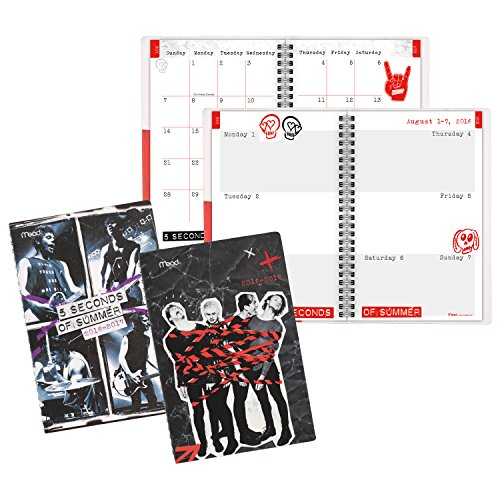 Seconds Summer Student Planner Monthly