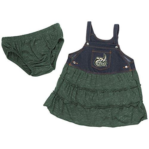 (UNC Charlotte 49ers Infant Girls Sandlot Overall Dress (6-12 M))