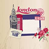 London: Travel Journal Scrapbook: Full Color with Photo Pages and Color Artwork