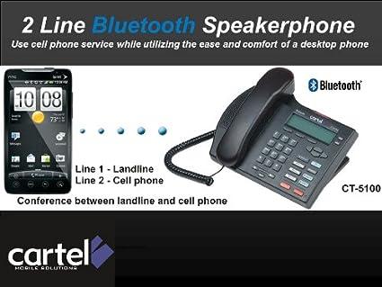 Amazon.com: Cartel Bluetooth Speakerphone for Office: Car ...