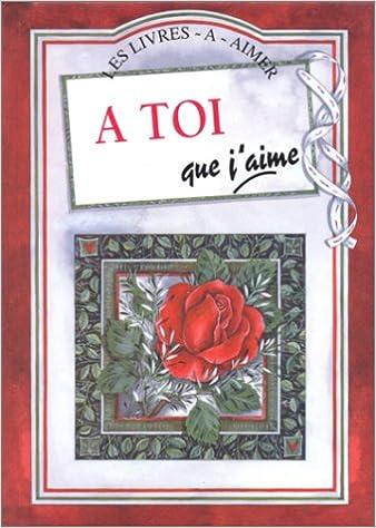 Livres A toi que j'aime pdf