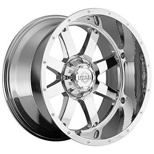 Gear Alloy 726C BIG BLOCK Wheel with Chrome Finish (20x10