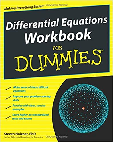 Differential Equations Workbook For Dummies: Steven Holzner