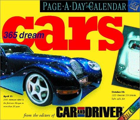 365 Dream Cars Page-a-Day Calendar: 2002: Amazon.es: Car & Driver: Libros en idiomas extranjeros