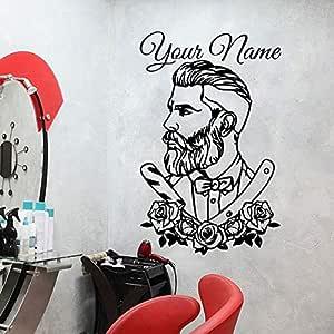 YuanMinglu Peluquería Personalizada Peluquería Peluquería Tatuaje ...