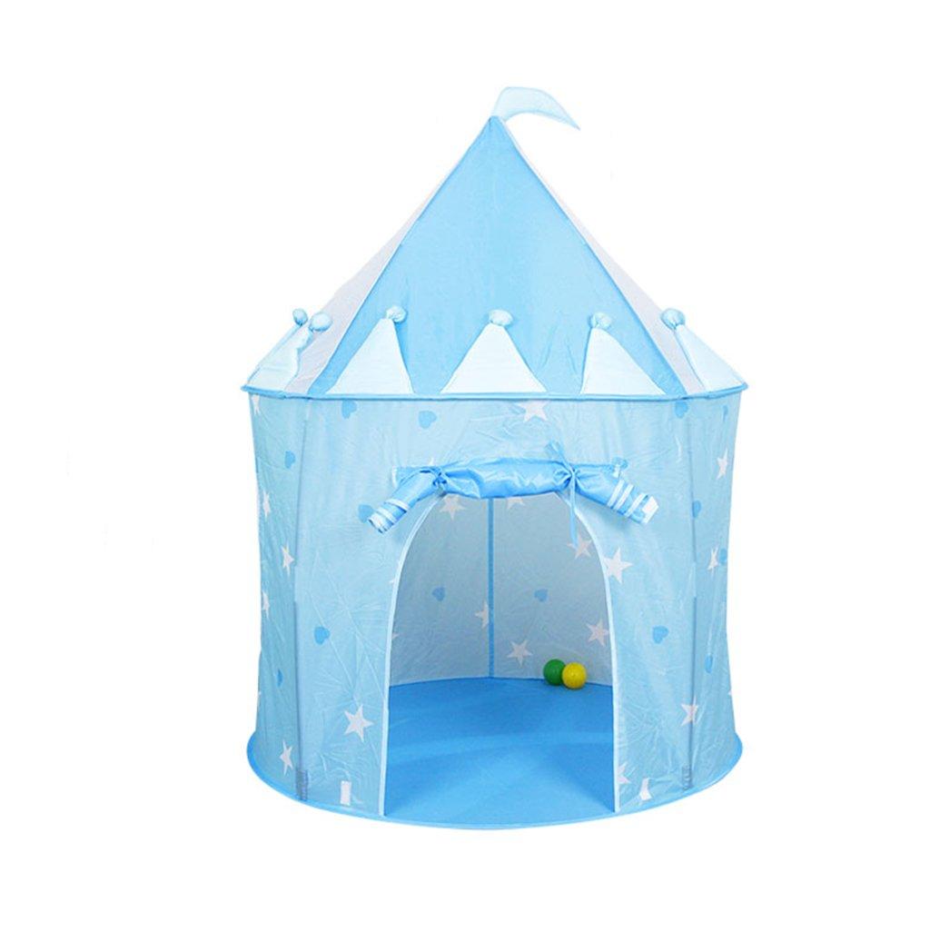 SZQ Toy Room Zelt, Kind Mädchen Marine Ball Pool Spiel Haus Schloss Zelt Baby Spielzeug Lagerung Geburtstagsgeschenk 100  130 cm Vergnügen