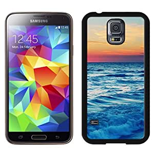 New Beautiful Custom Designed Cover Case For Samsung Galaxy S5 I9600 G900a G900v G900p G900t G900w With Nature Ocean Sea Skyline Phone Case