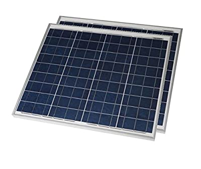 Grape Solar 50W Polycrystalline Solar Panel (2 Pack)
