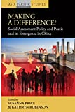 img - for Making a Difference?: Social Assessment Policy and Praxis and its Emergence in China (Asia-Pacific Studies: Past and Present) book / textbook / text book