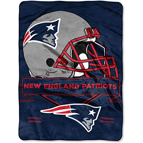 Patriots New England Soft Blanket (The Northwest Company NFL New England Patriots 60