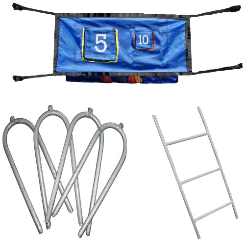 Skywalker Trampoline Accessory Game Kit with Ladder (47-Inch)