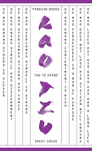 Tao Te Ching (Penguin Great Ideas)
