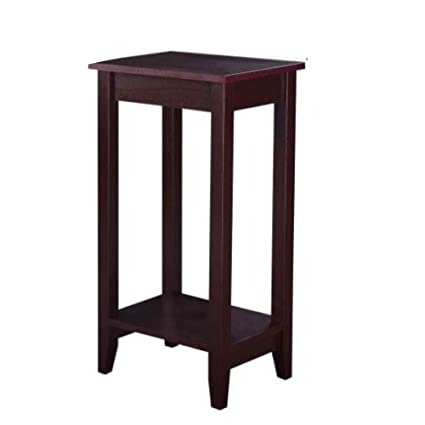 Remarkable Amazon Com Sofa End Table Rustic Espresso Classic Side Ibusinesslaw Wood Chair Design Ideas Ibusinesslaworg
