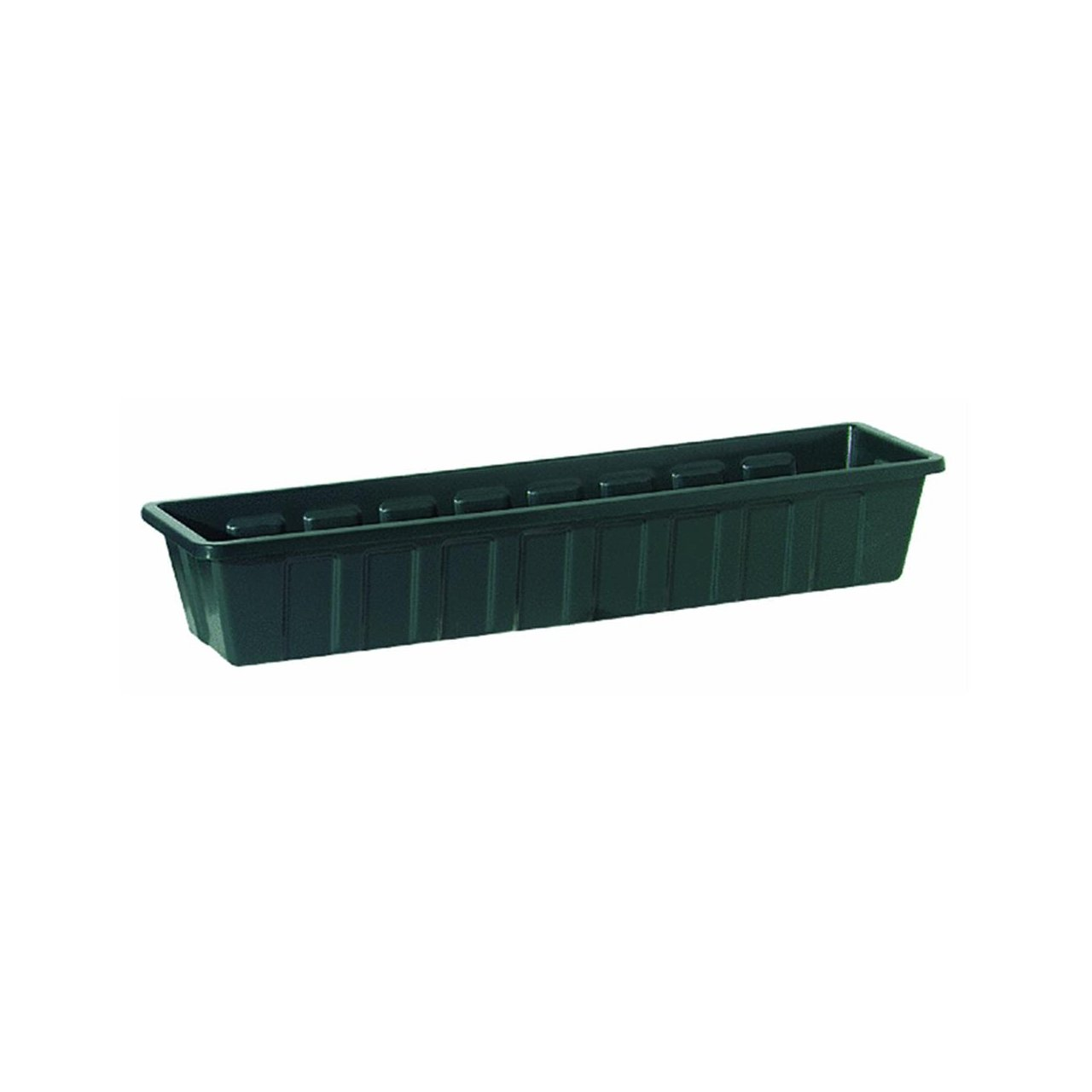 Polly Pro Rectangular Window Box Set of 2 Color Dark Green, Size 5 H x 8 W x 18 D