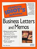 CIG Almanac of Business Letters and Memos, Tom Gorman, 002861741X